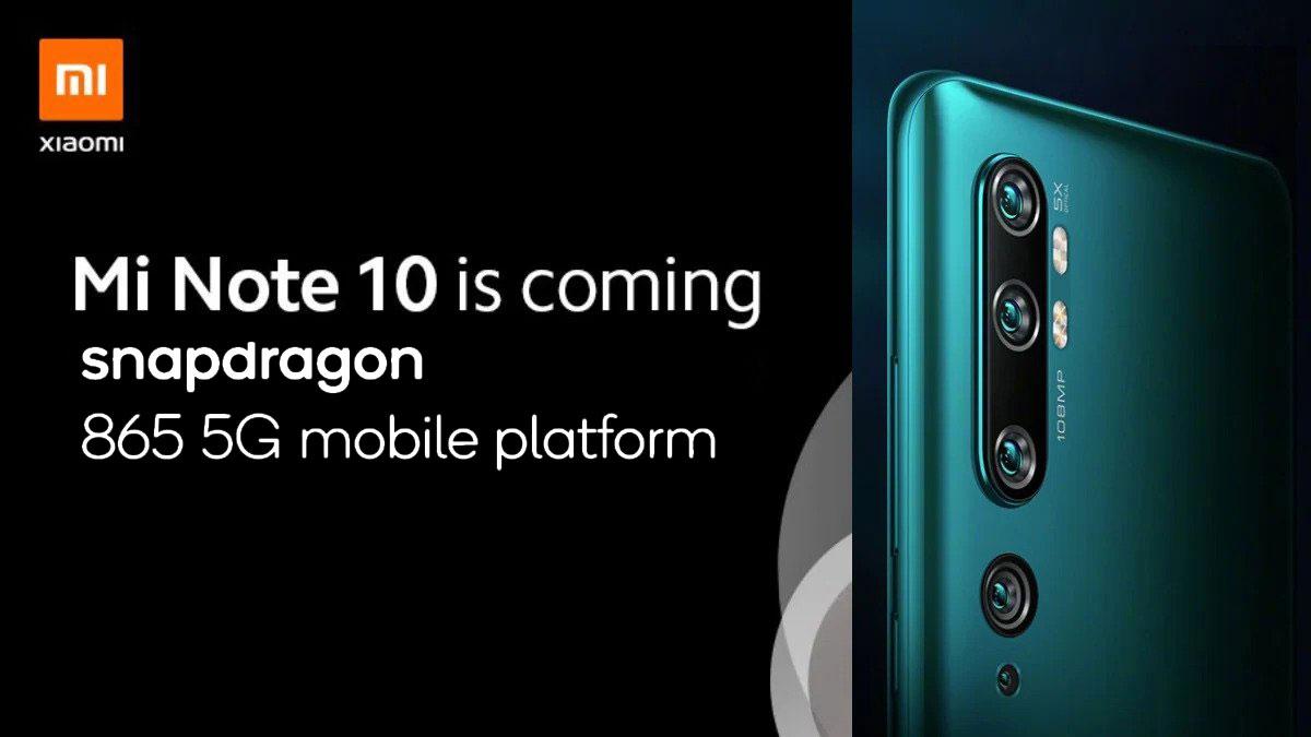 Xiaomi Mi 10 sẽ là smartphone đầu tiên được trang bị chip Snapdragon 865