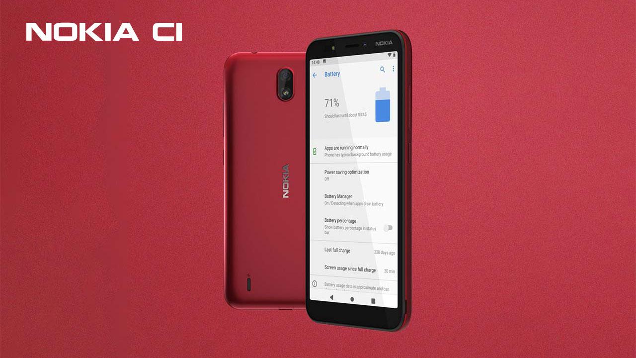 HMD Global ra mắt Nokia C1: Smartphone Android Go, hỗ trợ 3G, giá 1.36 triệu đồng