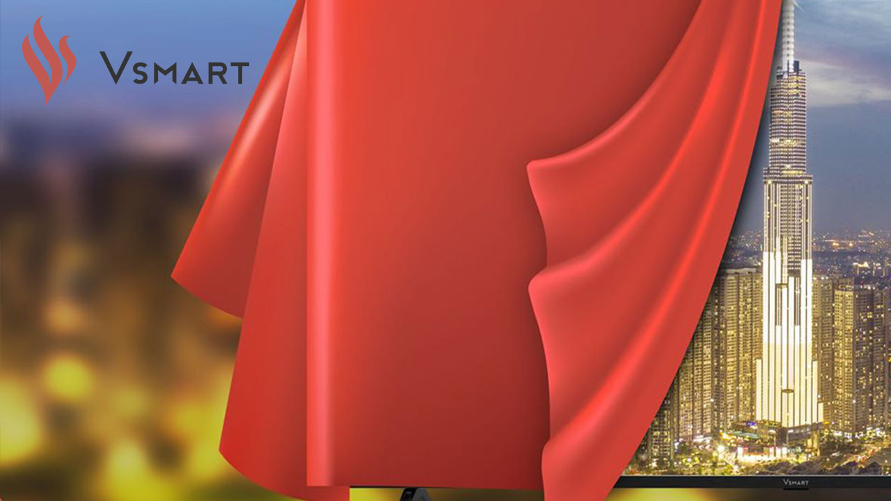 Vsmart sẽ ra mắt chiếc Smart TV đầu tiên sẽ ra mắt ngày hôm nay (14/12)