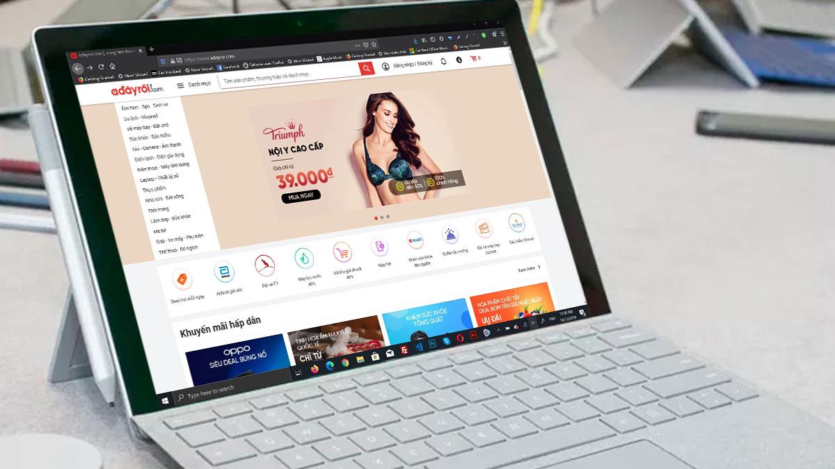 Vincommerce bất ngờ thông báo tạm ngưng hoạt động trang thương mại điện tử Adayroi.com kể từ 18h ngày 17/12