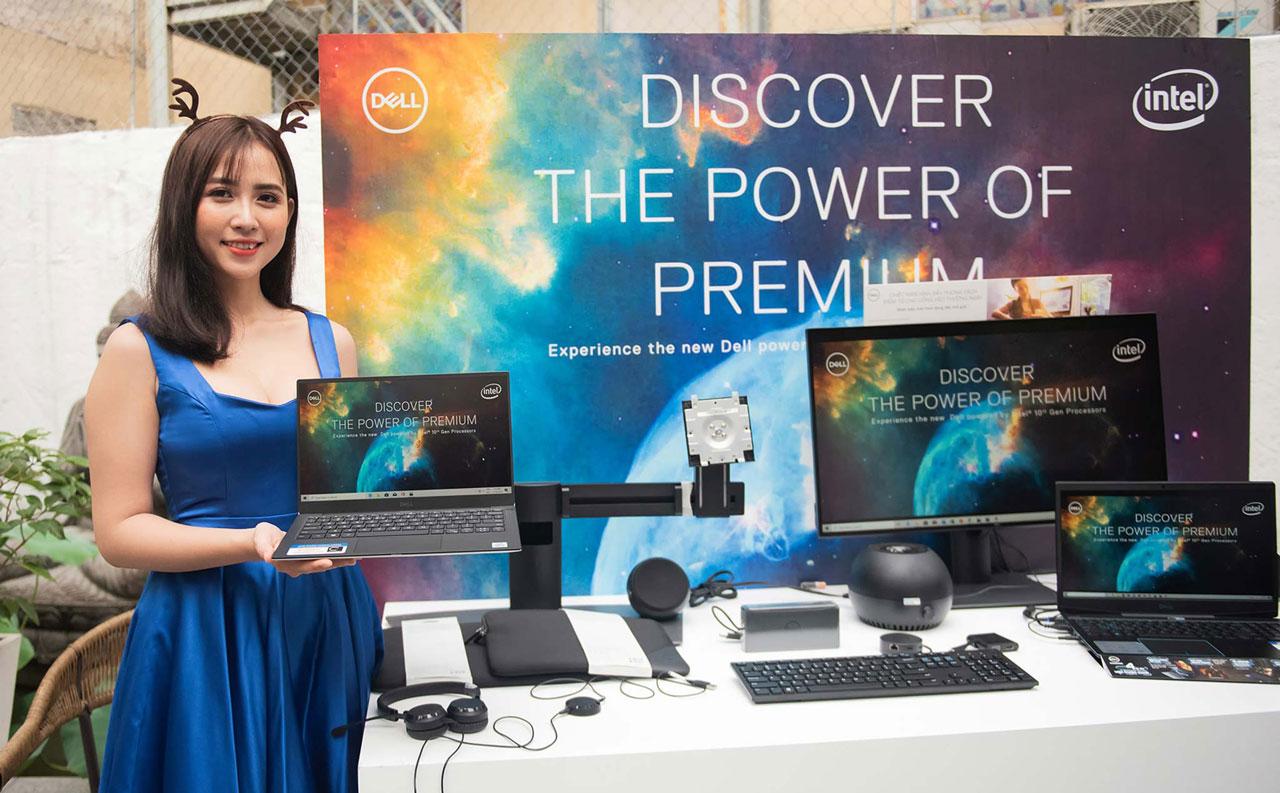 DELL ra mắt hàng loạt laptop mới với chip Intel Core thế hệ thứ 10