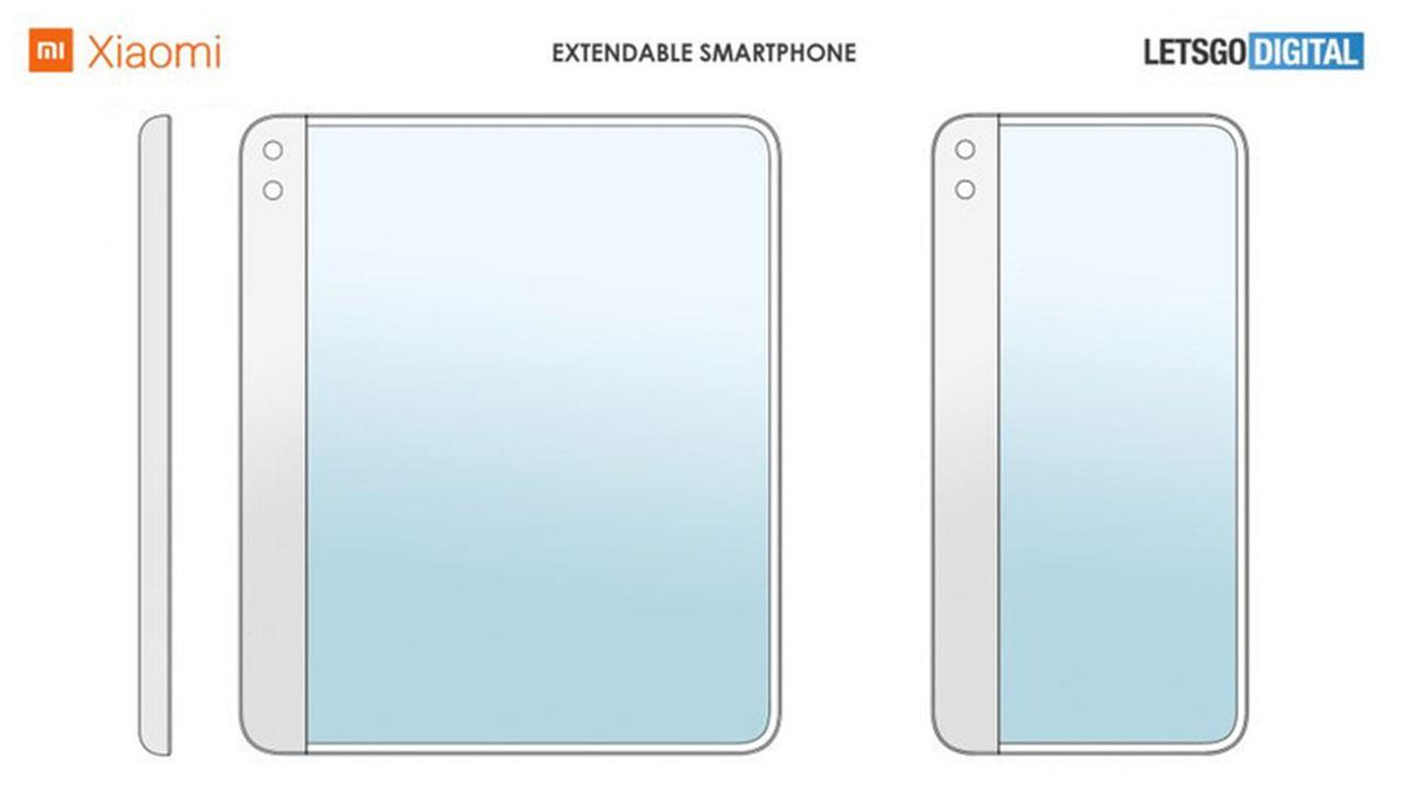 Xiaomi được cấp bằng sáng chế smartphone màn hình cuộn từ một phía