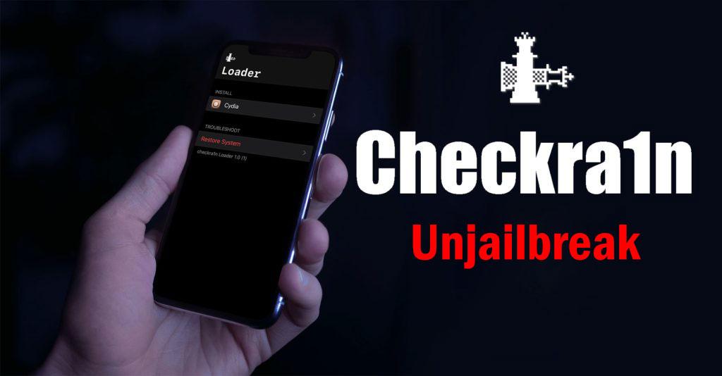 Hướng dẫn xóa jailbreak iOS 13.3 trên iPhone, iPad bằng công cụ Checkra1n Jailbreak iOS