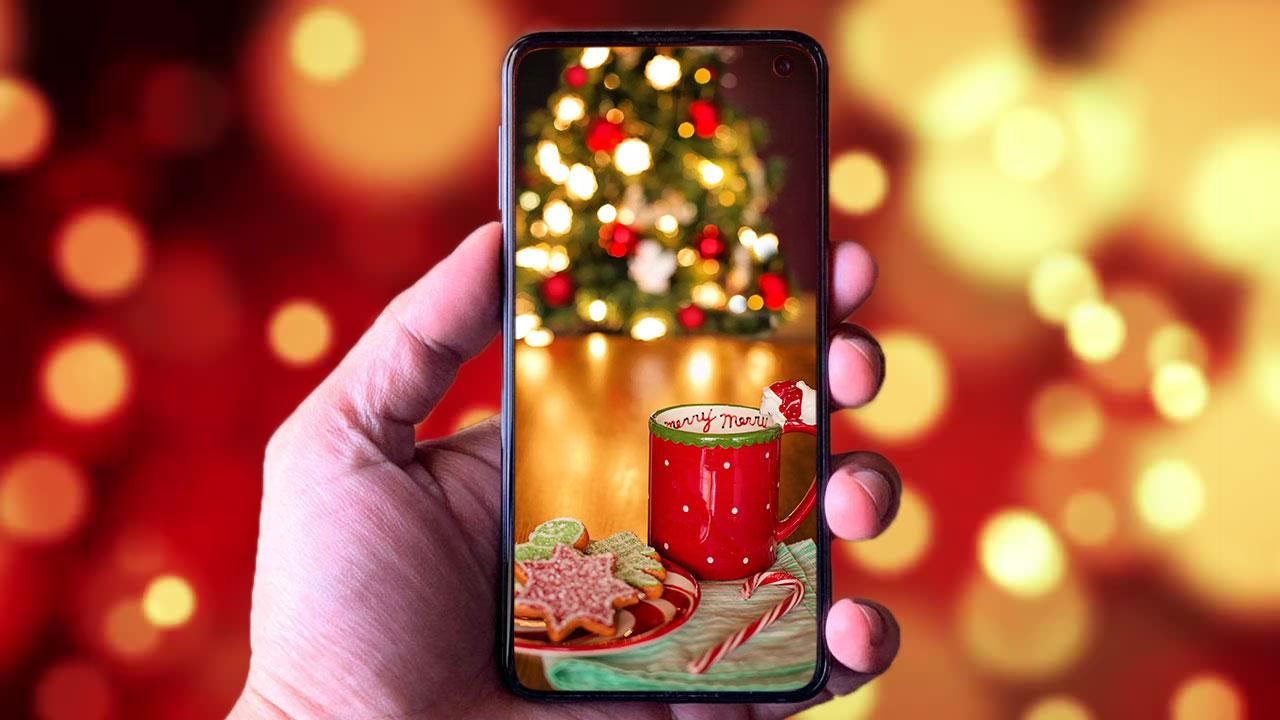 Chia sẻ bộ ảnh nền chất lượng cao chào mừng mùa Giáng Sinh 2019 cho điện thoại, mời anh em tải về