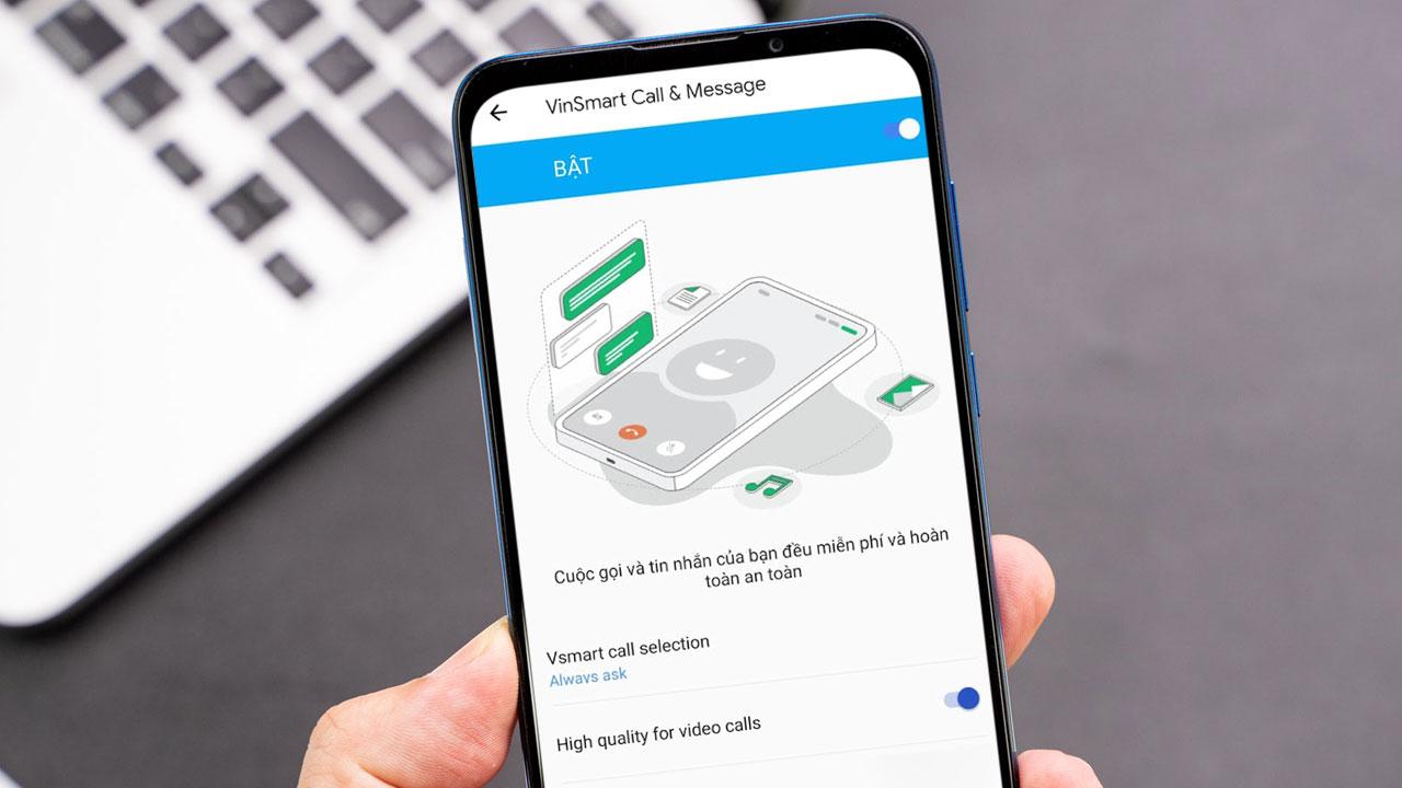 Vsmart ra mắt dịch vụ Vmessage và Vcall tượng tự như iMessage và FaceTime trên iPhone