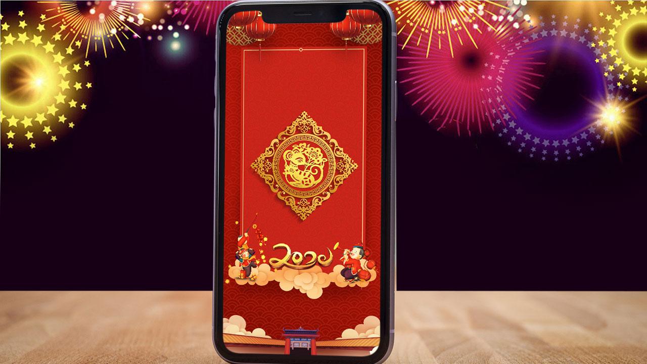 Chia sẻ bộ ảnh nền điện thoại chào đón năm mới 2020, mời anh em tải về