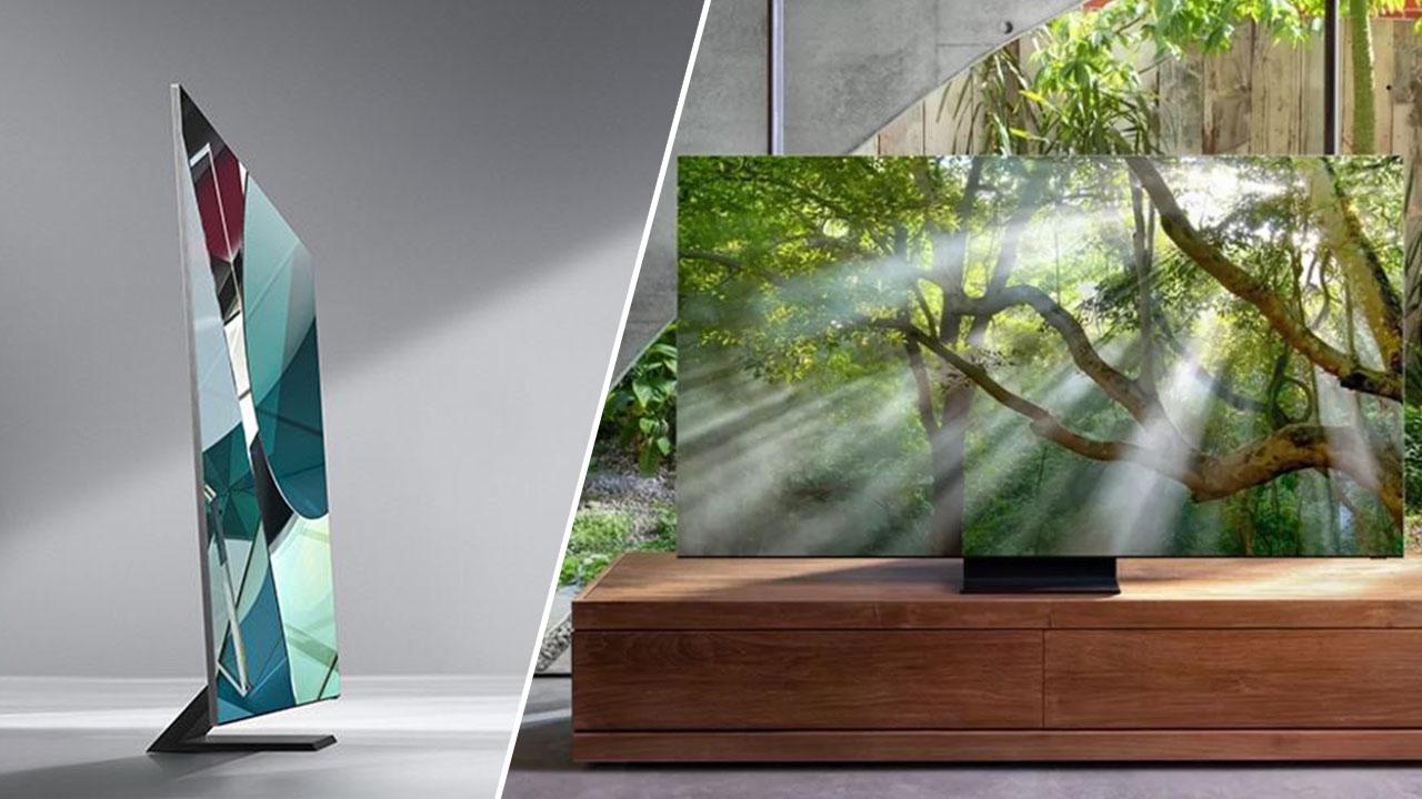 Samsung hé lộ thông tin đầu tiên về TV 8K 'không viền', mỏng 2.3mm, tỷ lệ màn hình trên mặt trước 99%