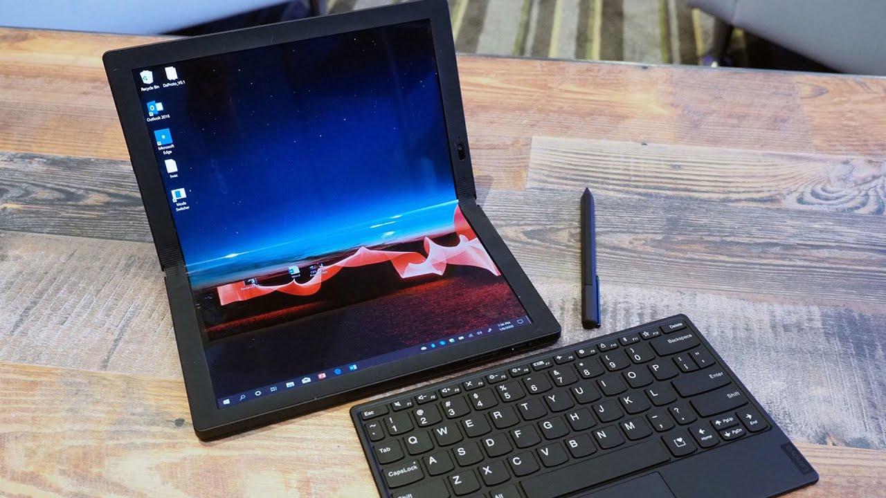 [CES 2020] Lenovo ra mắt ThinkPad X1 Fold với màn hình OLED gập, giá gần 60 triệu đồng