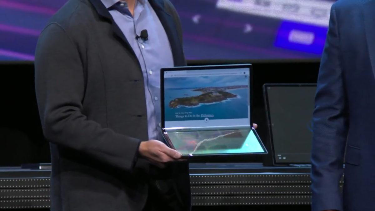 [CES 2020] Không chịu kém cạnh, Intel công bố laptop màn hình gập của riêng mình