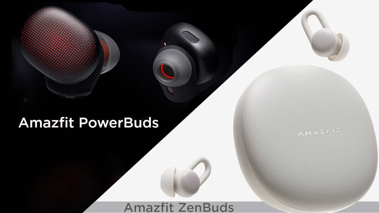 [CES 2020] Amazfit trình làng bộ đôi tai nghe true wireless PowerBuds và ZenBuds: Giá chưa bằng một nửa so với AirPods Pro, pin trâu gấp đôi