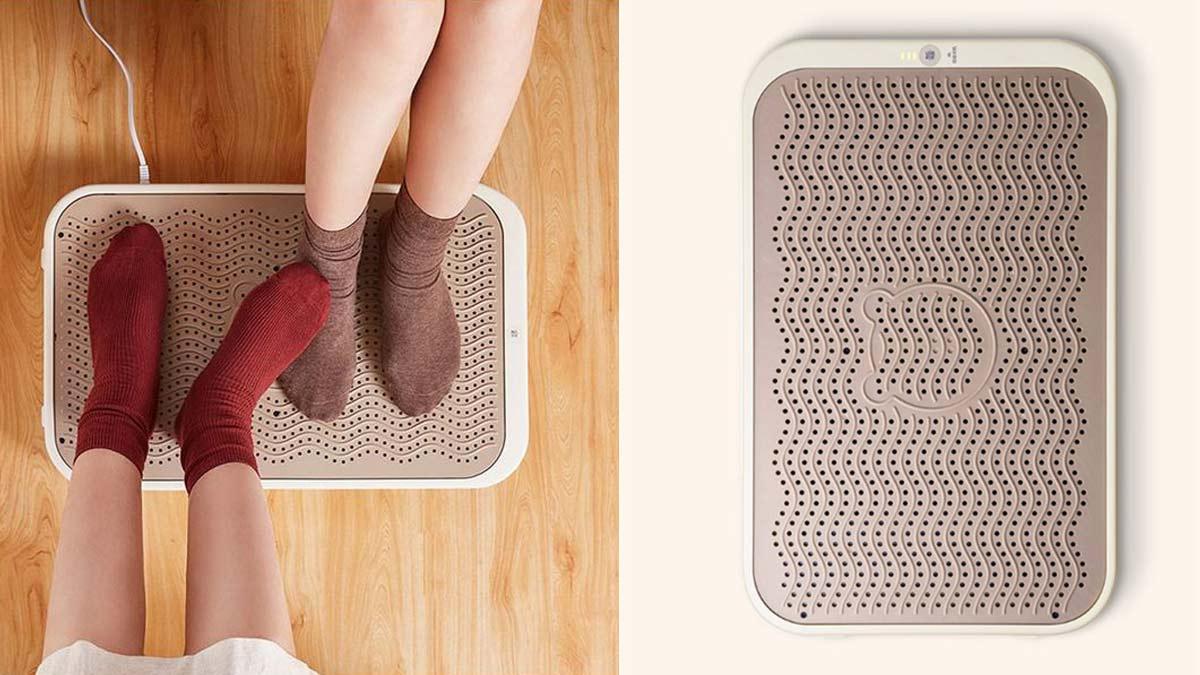 Xiaomi ra mắt máy sưởi chân: Đủ chỗ để 2 người sưởi cùng lúc, giá 630.000 đồng