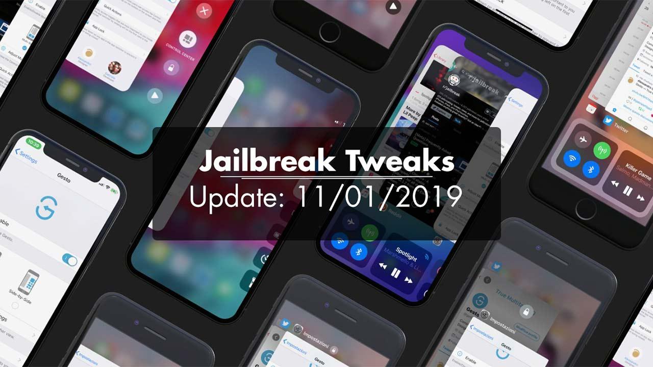 [11/01/2020] Tổng hợp một số tweak mới phát hành trong thời gian gần đây, dành cho thiết bị iOS đã jailbreak