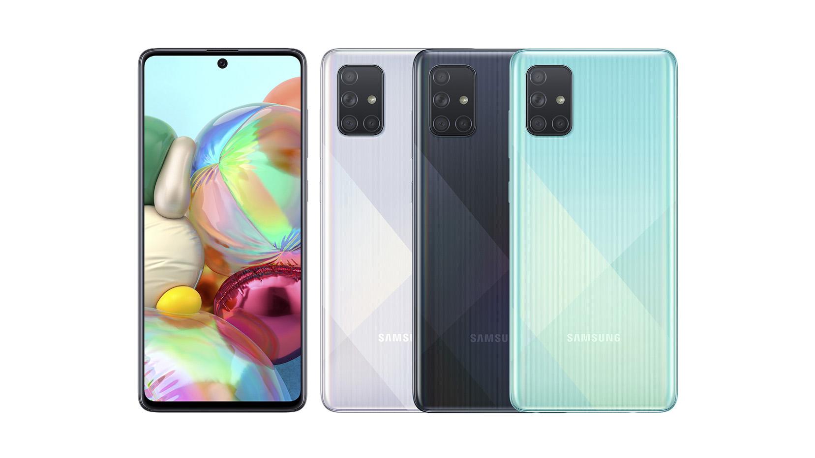 Samsung chính thức ra mắt Galaxy A71: 4 camera lên tới 64MP, pin 4500mAh, sạc nhanh 25W giá 10,49 triệu