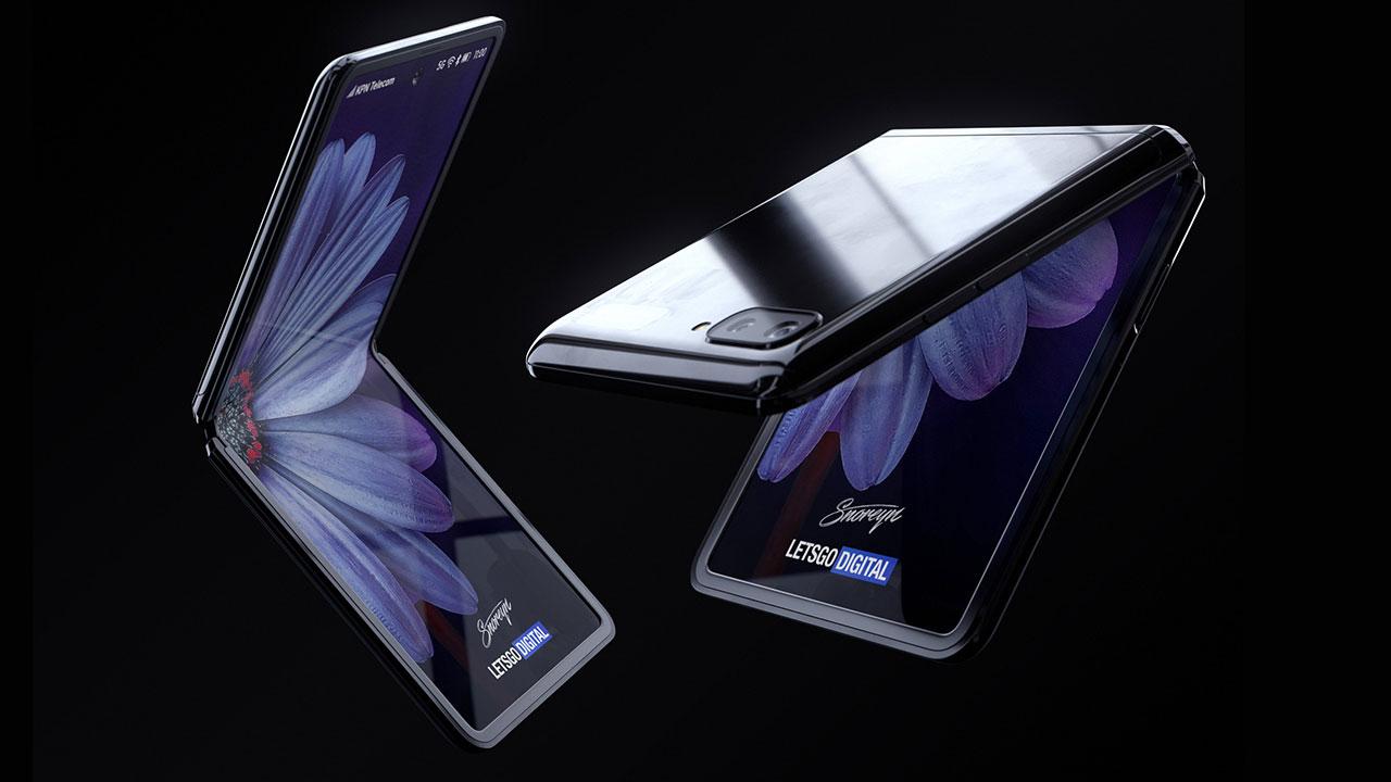 Cùng chiêm ngưỡng Galaxy Z Flip sắp ra mắt với thiết kế gập vỏ sò qua loạt ảnh render