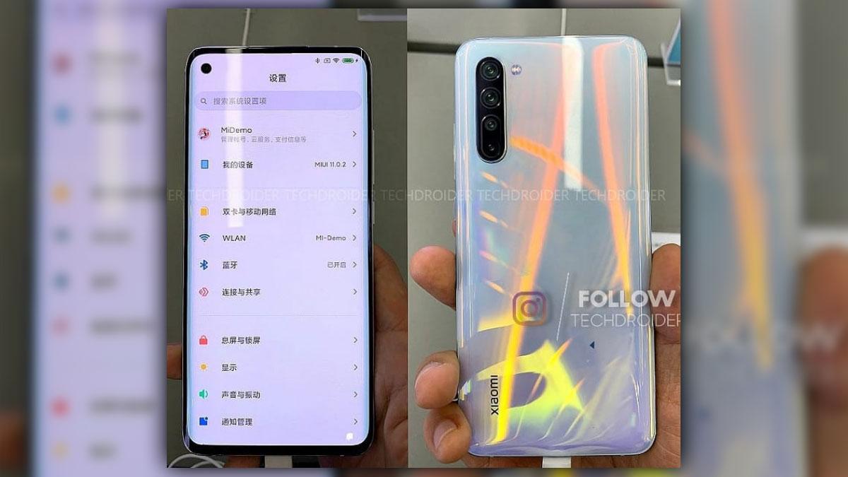 Xiaomi Mi 10 lộ ảnh thực tế xác nhận sử dụng thiết kế màn hình đục lỗ, 4 camera sau