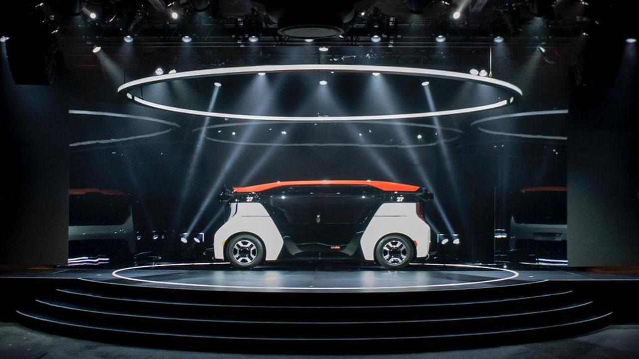 Hãng ô tô GM tiết lộ chiếc xe tự lái hoàn toàn, không có vô lăng hay chân ga cho người điều khiển