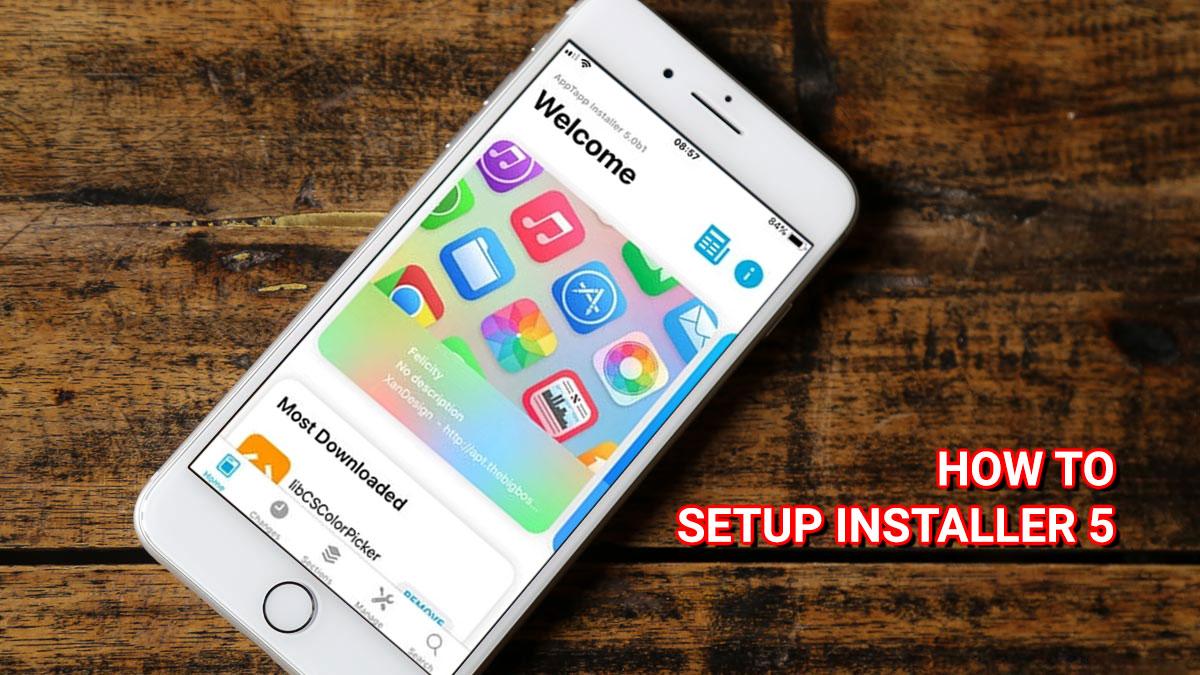 Hướng dẫn cài đặt trình quản lý gói Installer 5 chính thức trên iPhone, iPad đã jailbreak