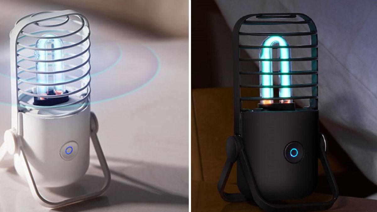 Xiaomi ra mắt đèn khử trùng bằng tia UV diệt 99,9% vi khuẩn kể cả virus Corona, giá 270K