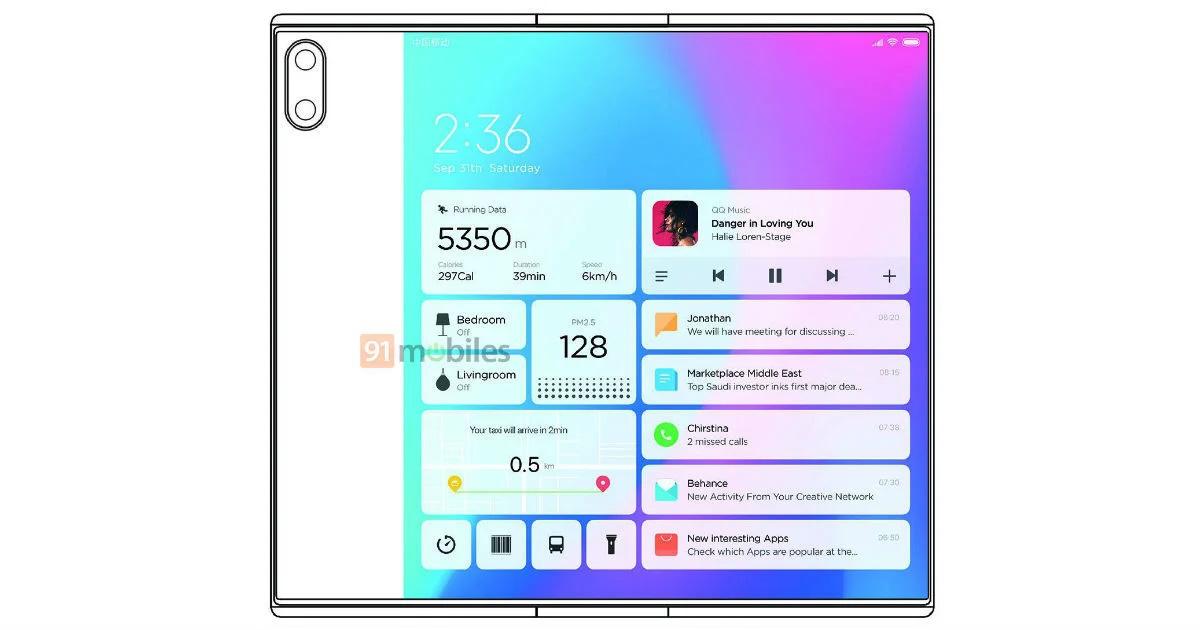 Lộ diện Xiaomi Mi Mix Fold với thiết kế mang nhiều nét tương đồng với Huawei Mate X