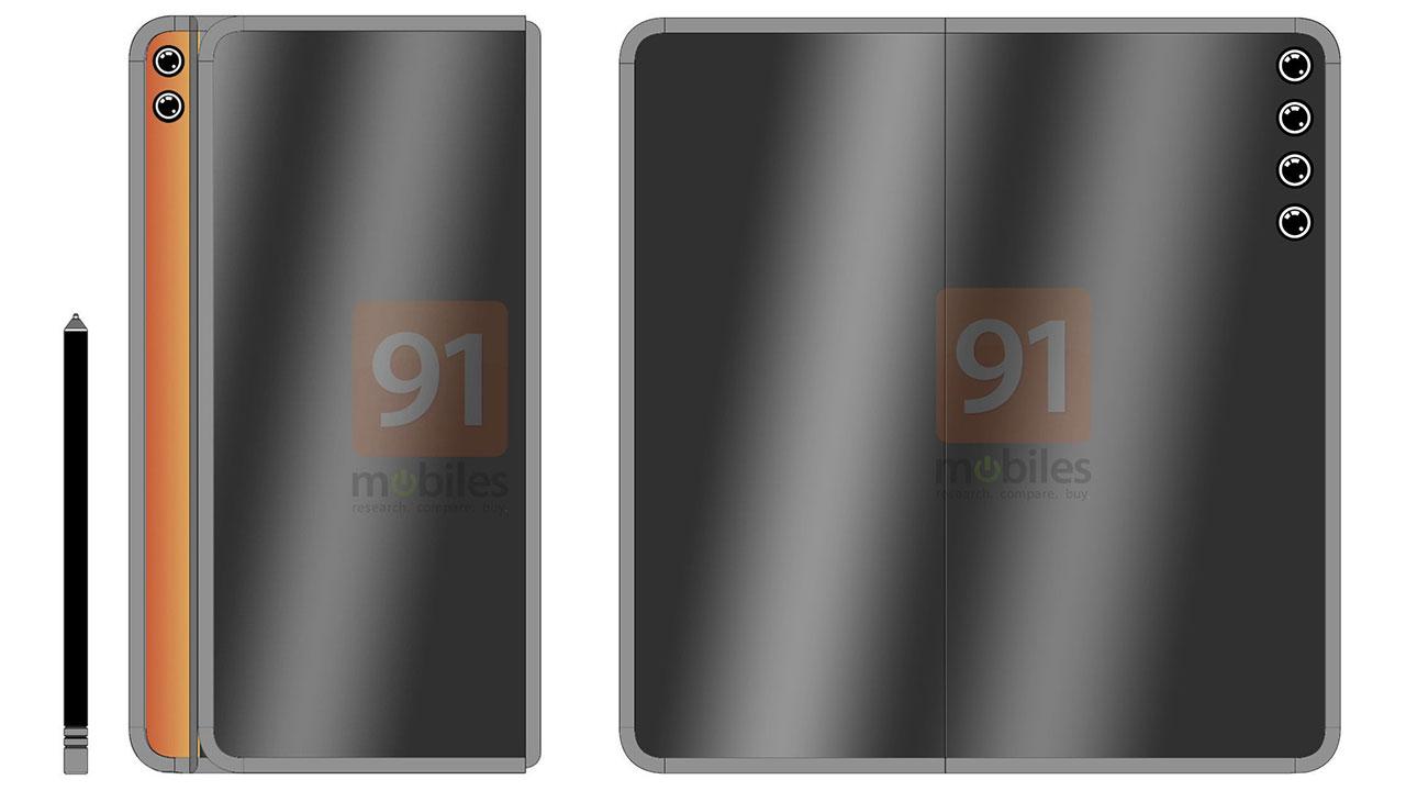 Rò rỉ bằng sáng chế smartphone màn hình gập mới của Huawei, có thể là Mate X2