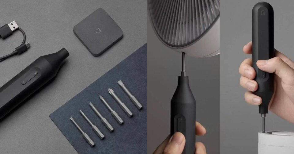 Tuốc nơ vít điện đa năng MIJIA mới của Xiaomi, giá chỉ 430.000 đồng