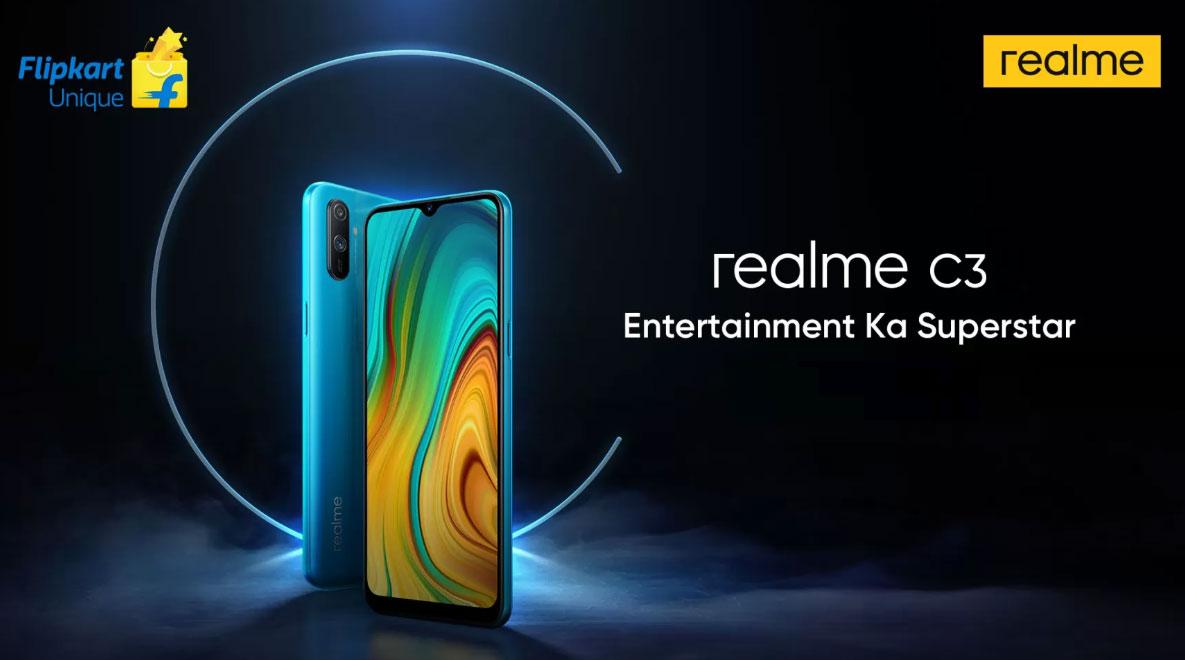 OPPO chính thức ra mắt Realme C3 với chip Helio G70, camera kép, pin 5000mAh, giá từ 2.3 triệu đồng