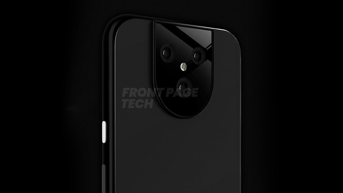 Rò rỉ hình ảnh thiết kế của Google Pixel 5 với cụm camera sau có thiết kế khác lạ