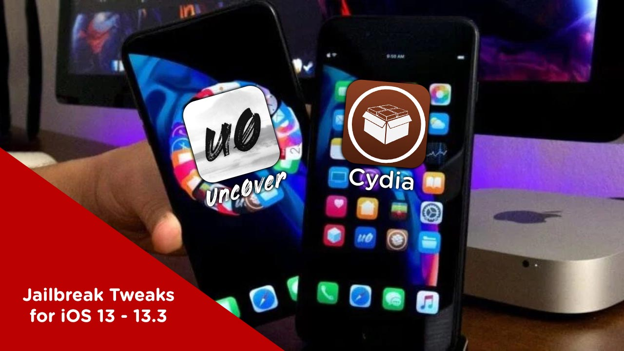Tổng hợp các tweak tương thích với Unc0ver jailbreak iOS 13 - iOS 13.3