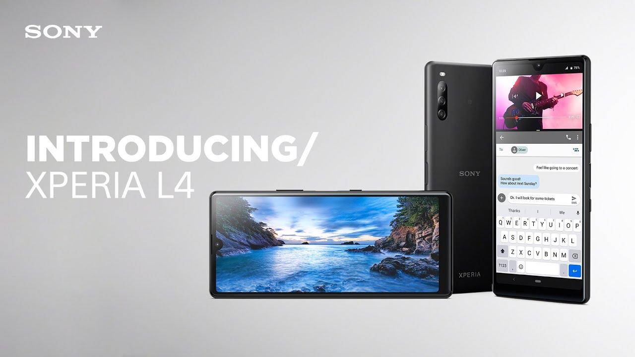 Sony chính thức ra mắt Xperia L4: Smartphone đầu tiên của Sony có màn hình giọt nước, cấu hình tầm trung