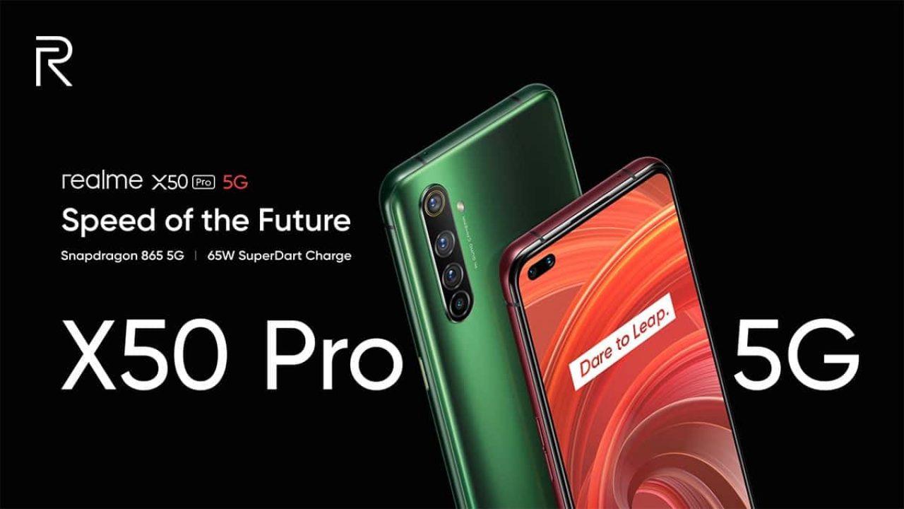 Realme X50 Pro chính thức ra mắt: Snapdragon 865, 12GB RAM, hỗ trợ 5G, sạc nhanh 65W, giá chỉ 600 USD