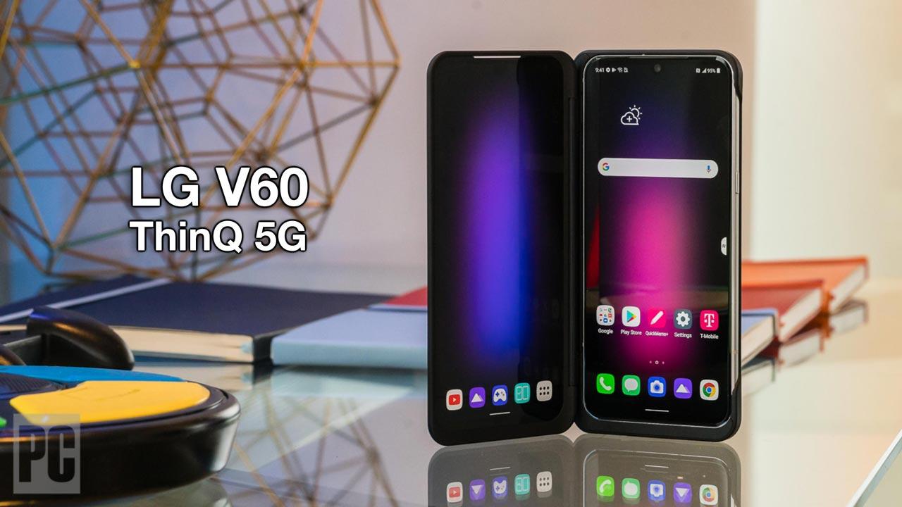 LG V60 ThinQ chính thức ra mắt: Snapdragon 865, thiết kế củ, vẫn có màn hình phụ