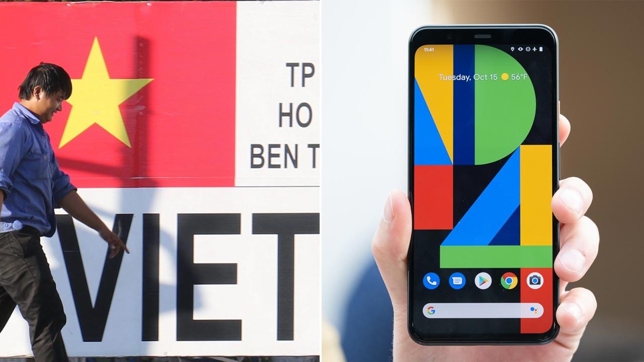 Google sẽ chuyển dây chuyền sản xuất điện thoại Pixel từ Trung Quốc sang Việt Nam