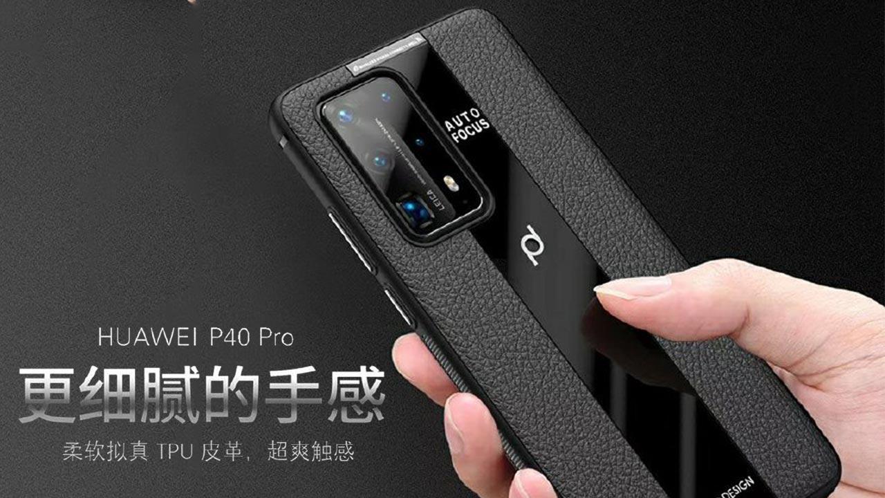 Nhà sản xuất phụ kiện vô tình để lộ thiết kế của Huawei P40 Pro với cụm camera sau cực ngầu