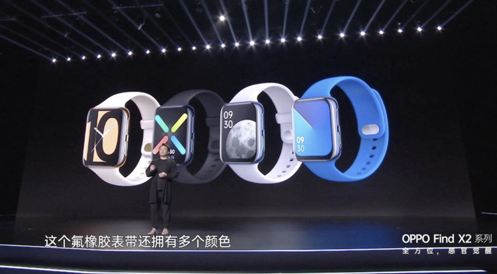 OPPO Watch chính thức ra mắt: Thiết kế giống Apple Watch, hỗ trợ eSIM, sạc nhanh VOOC, giá từ 5 triệu đồng
