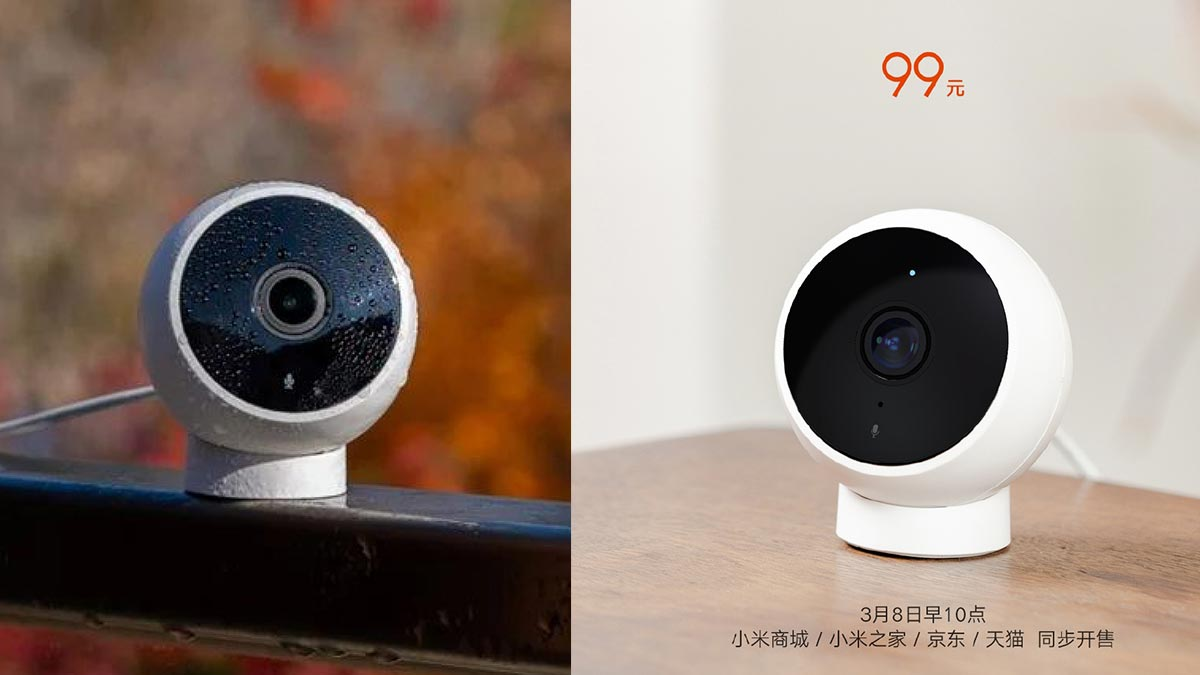 Xiaomi ra mắt camera giám sát thông minh giá siêu rẻ, chỉ 330.000 đồng