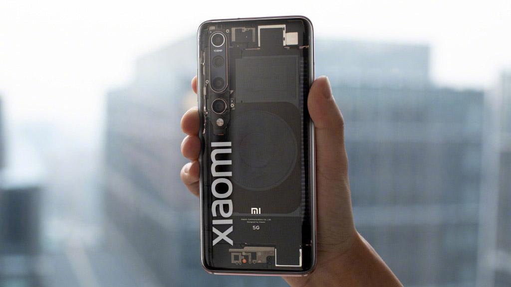 Xiaomi Mi 10 Explorer Edition lộ ảnh thực tế với mặt lưng trong suốt