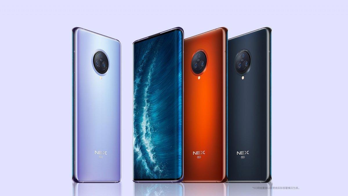 Vivo NEX 3S 5G ra mắt: Snapdragon 865, màn hình thác nước, sạc nhanh 44W, giá từ 16.7 triệu đồng