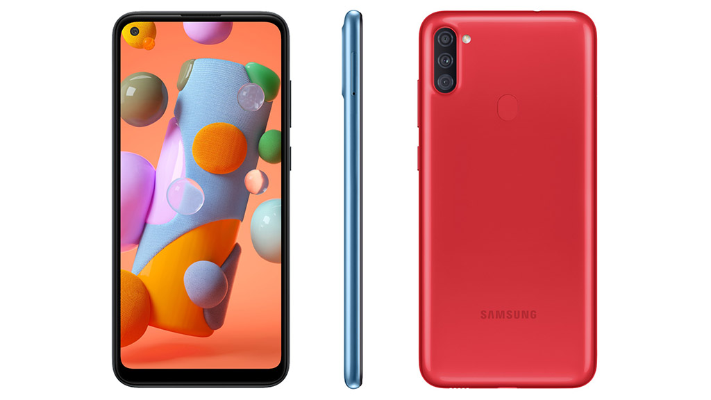 Samsung ra mắt smartphone giá rẻ Galaxy A11 với màn hình 6.4 inch đục lỗ, 3 camera, pin 4000mAh có sạc nhanh