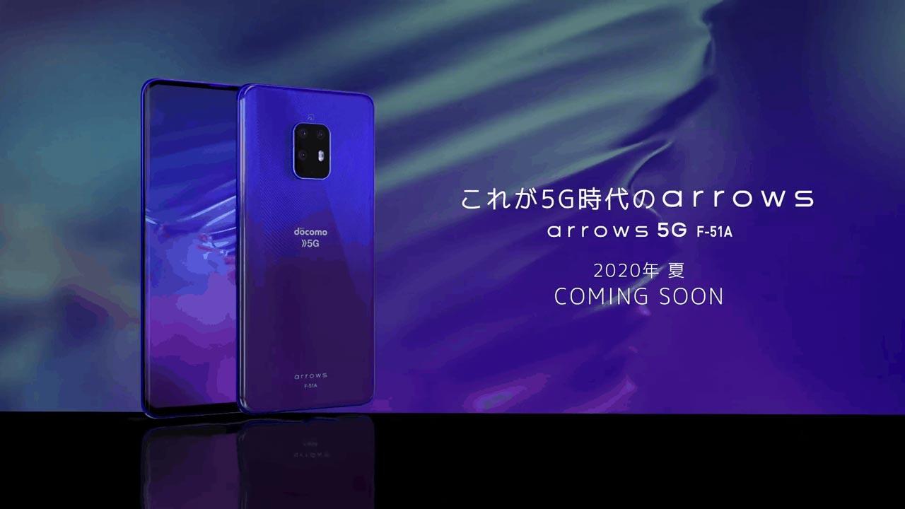 Fujitsu Arbow 5G: Smartphone Nhật cao cấp lộ diện trước ngày ra mắt