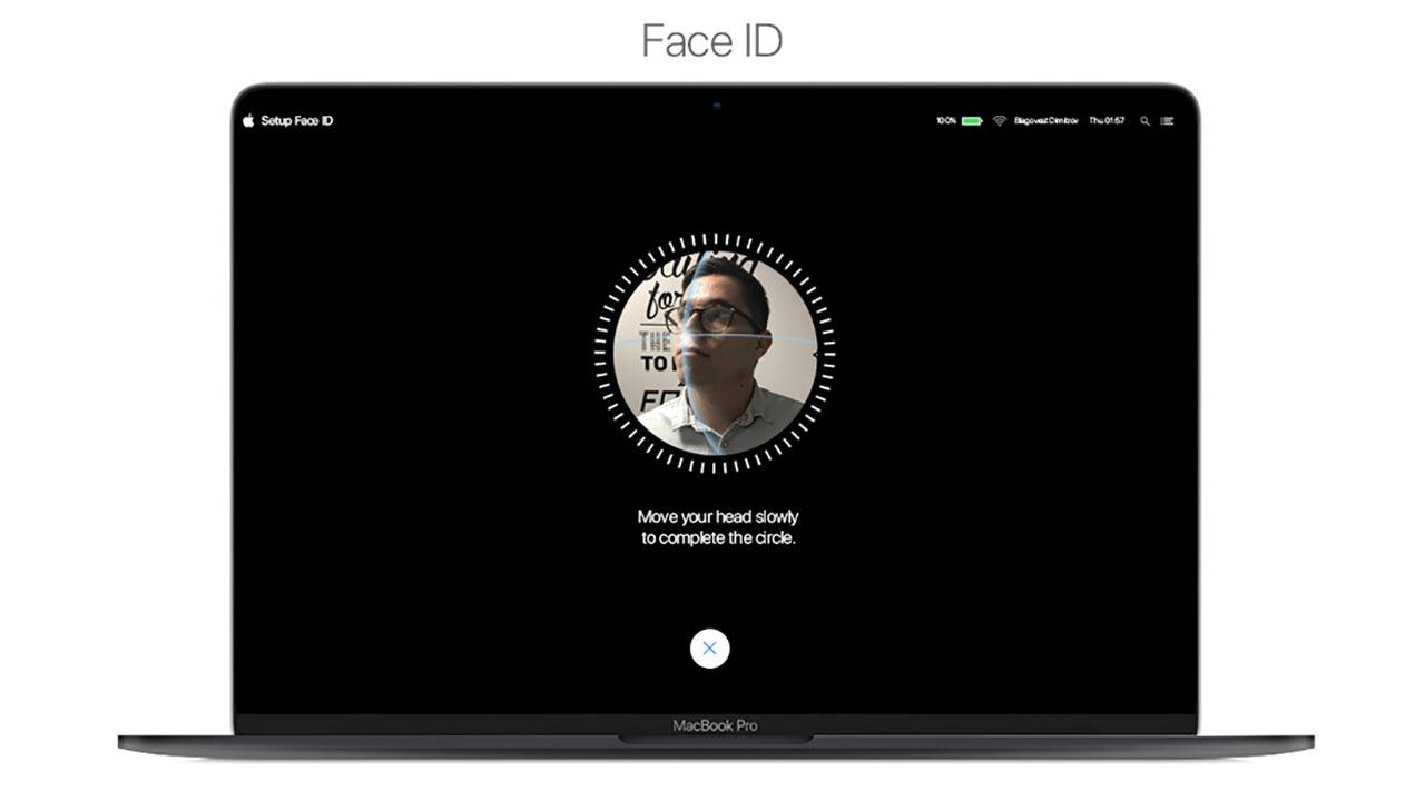 Lộ diện bằng sáng chế mới của Apple cho thấy Face ID sẽ chuẩn bị có mặt trên máy Mac