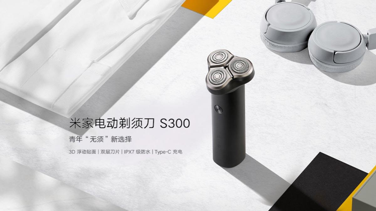 Xiaomi ra mắt máy cạo râu điện MIJIA S300: Thiết kế 3 đầu cắt, kháng nước, giá chỉ 330.000 đồng