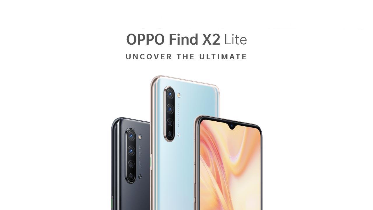 OPPO ra mắt Find X2 Lite với chip Snapdragon 765G, hỗ trợ 5G, sạc nhanh VOOC 2.0, giá 12.7 triệu đồng