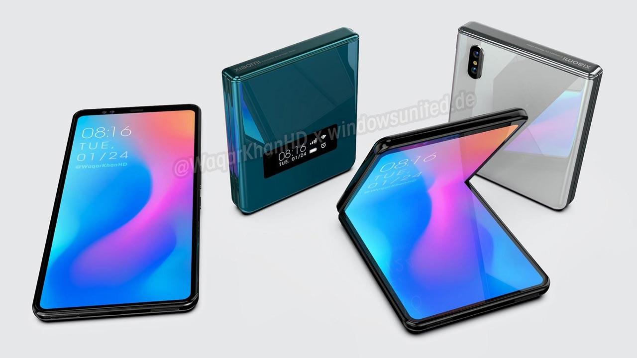 Xiaomi đang phát triển smartphone màn hình gập vỏ sò giống Galaxy Z Flip