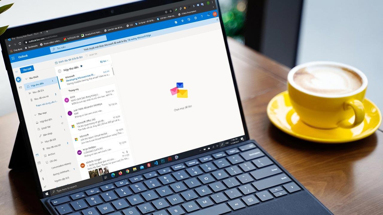 Microsoft lôi kéo người dùng Chrome chuyển sang Edge, khi người dùng truy cập Outlook