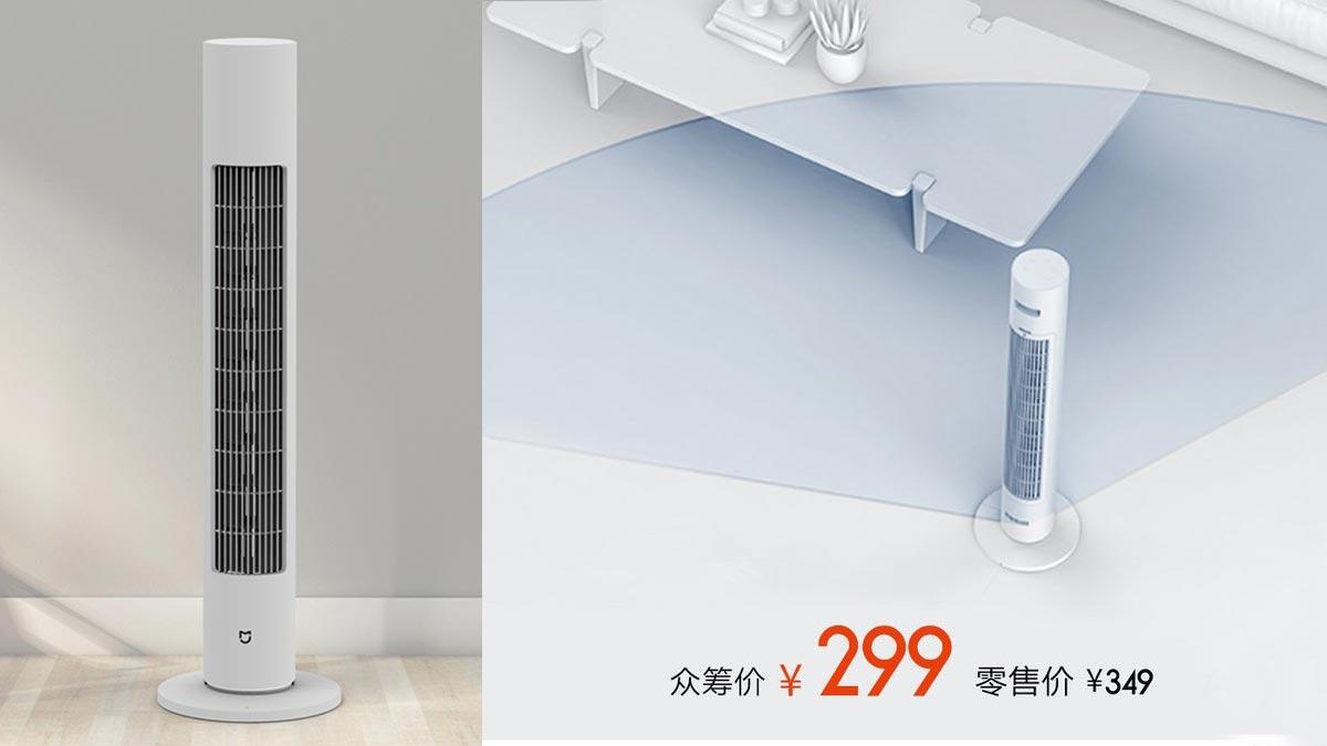 Xiaomi ra mắt quạt tháp MIJIA DC Inverter: Động cơ không chổi than, độ ồn thấp, tiết kiệm điện, giá 1.2 triệu đồng