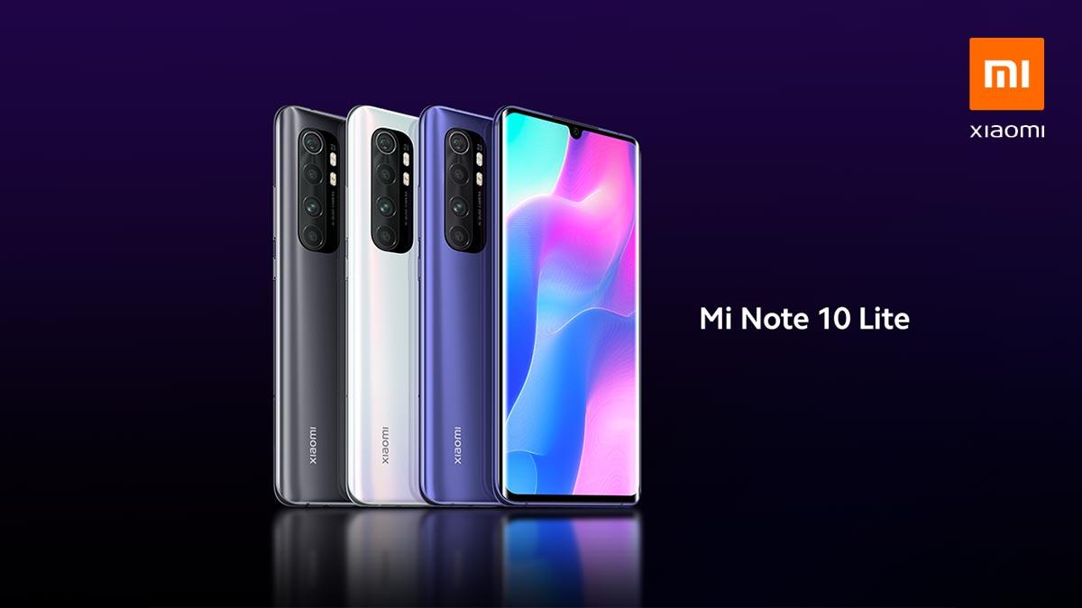 Xiaomi ra mắt Mi Note 10 Lite với chip Snapdragon 730G, 4 camera 64MP, sạc nhanh 30W, giá từ 9 triệu đồng