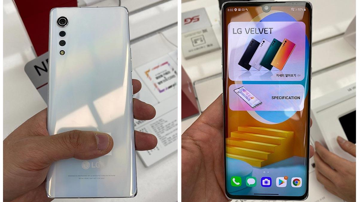 LG Velvet lộ diện hoàn toàn: Thiết kế giọt mưa mới, 3 camera, Snapdragon 765G, ra mắt 7/5