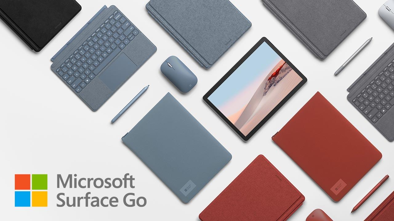 Microsoft Surface Go 2 ra mắt: Màn hình 10.5 inch, cấu hình nâng cấp, giá từ 399 USD