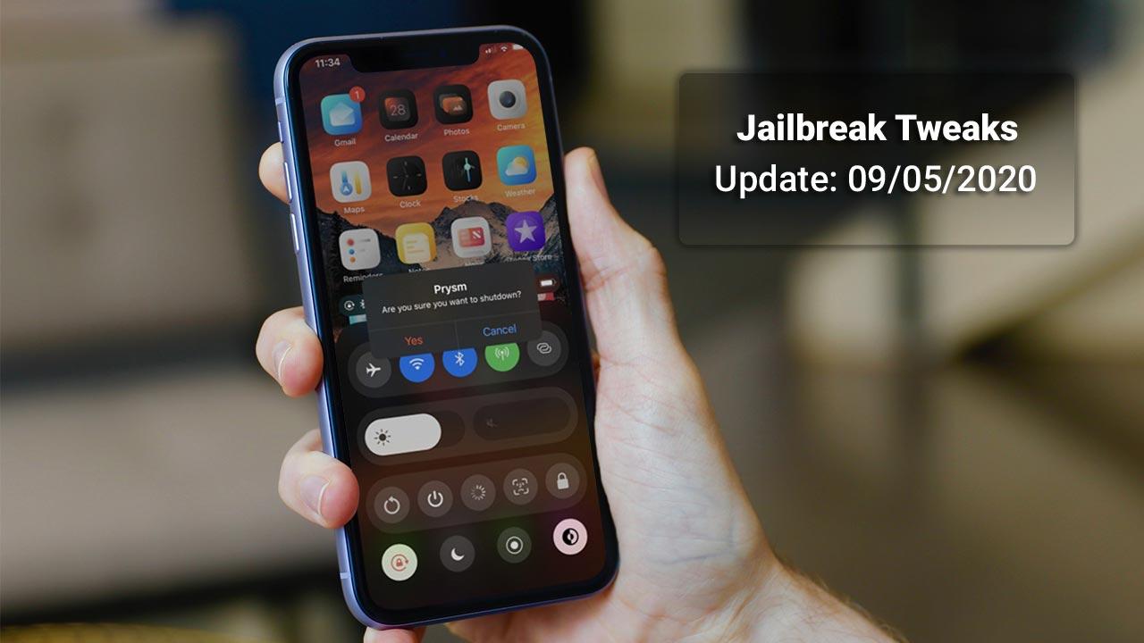 [09/05/2020] Tổng hợp một số tweak mới phát hành trong thời gian gần đây, dành cho thiết bị iOS đã jailbreak
