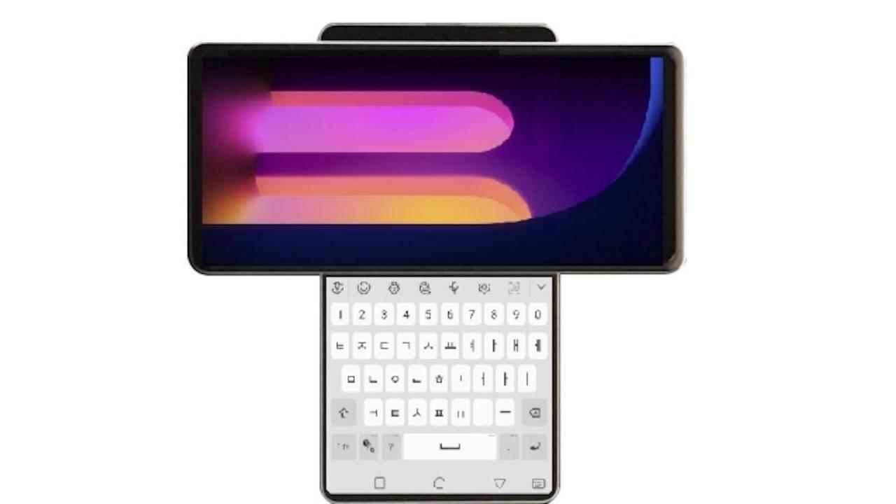 Smartphone LG Wing lộ diện với thiết kế màn hình xoay độc đáo để lộ ra màn hình phụ thứ hai